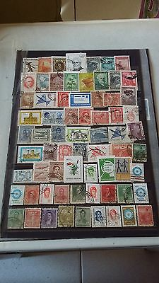 69 timbres Argentine (lot FE1)