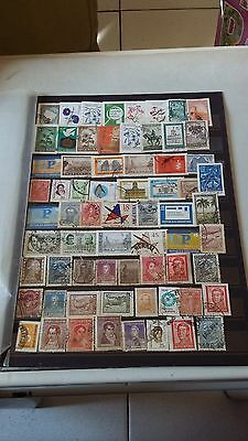 67 timbres Argentine (lot FE2)