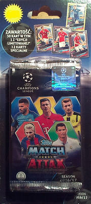 Blister Topps Champions League 2016 2017 (5 x Booster ,1 x Limited Edition)