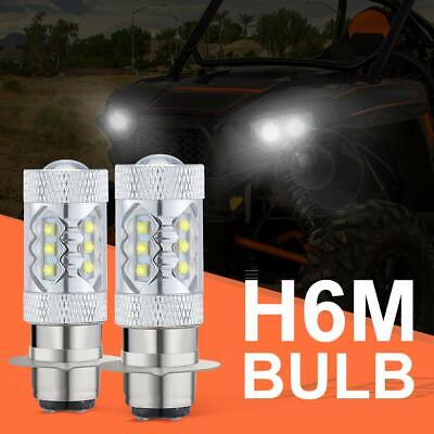 80W LED Head Light Bulbs for 2004-2009 Yamaha YFZ450 Banshee 350 YFZ350 H6M