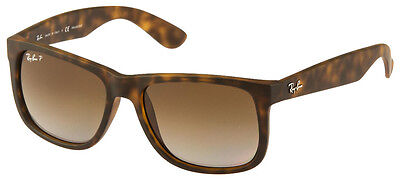 "RAY BAN RB 4165 865/T5 Gr. 54 POLARIZED ""JUSTIN"" SONNENBRILLE NEU!"