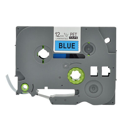 TZe 531 PTouch Label Tape Compatible for Brother Black on Blue TZ531 12mm 26.2ft