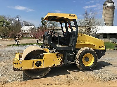 2011 Bomag BW177  Dirt Roller  1600 hours Financing Available