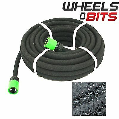 15M Compatible Porous Soaker Hose Garden Drip Irrigation Watering Pipe Lawn