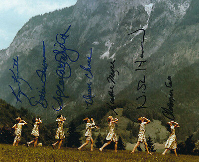 The Sound Of Music Photo Signed by All 7 Kids - J1236 - BRILLIANT!!!!!