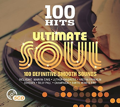 Various Artists-100 Hits - Ultimate Soul  (UK IMPORT)  CD NEW