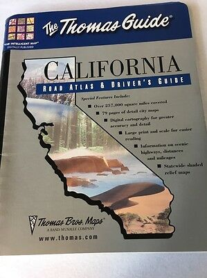 Thomas Guide California Road Atlas And Drivers Guide 2002 Good