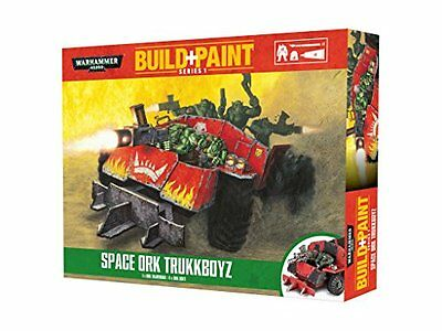 Revell GmbH Warhammer 40, 000 Space Ork Trukkboyz Build and Paint Set
