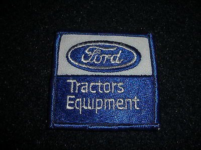 Ford Tractors Equipment Advertisement Patch Vintage 1980's