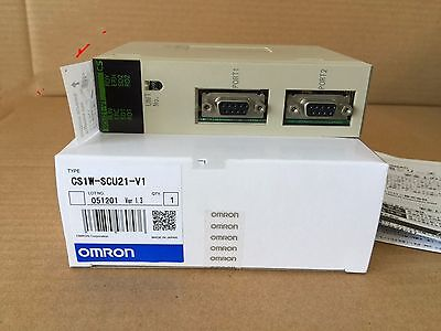 1pcs New Omron PLC CS1W-SCU21-V1