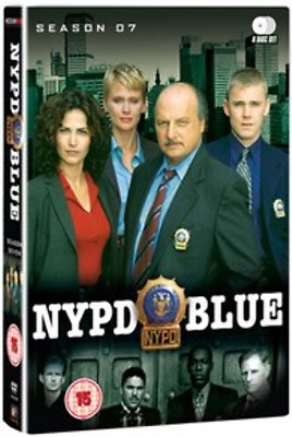 Dennis Franz, Gordon Clapp-NYPD Blue: Season 7  (UK IMPORT)  DVD NEW