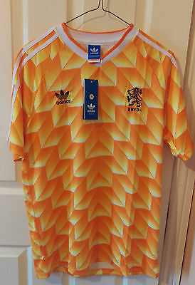 Holland 1988 Home Football Shirt Soccer Jersey. SIZE: SMALL
