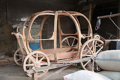 Custom Made Disney Princess Carriage Toddler Pumpkin Bed with anycolour you like
