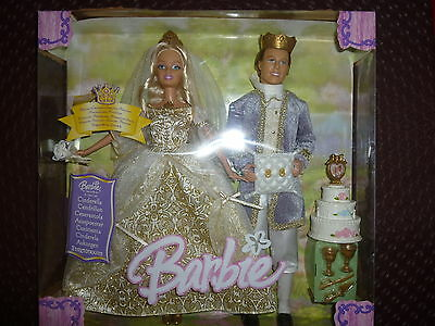 Barbie & Ken Cinderella Boxed Set - Sealed In Box - New