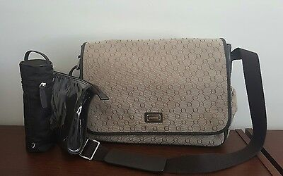Oroton Signature O Nappy Baby Bag (EXCELLENT AS NEW)