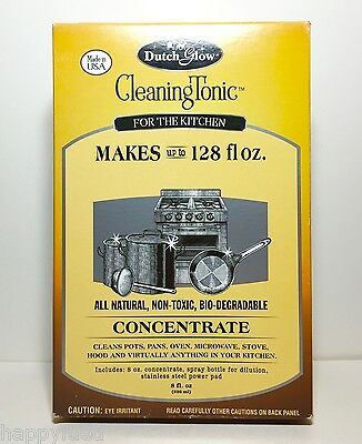 Dutch Glow Cleaning Tonic Concentrate Makes 128 oz All Natural Kitchen Cleaner