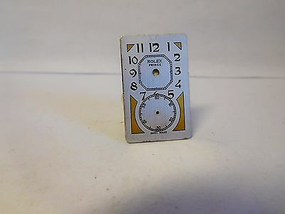 Rolex Prince Vintage DOCTORS WATCH ZIFFERBLATT / DIAL.Original.Old stock