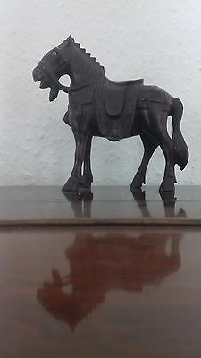 Wooden carved Chinese horse