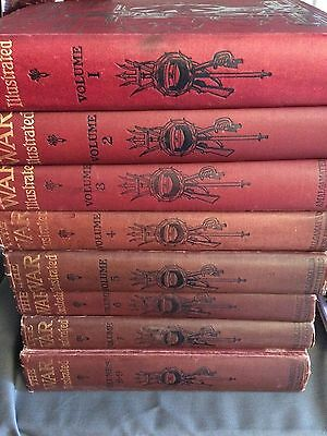 Set 9 Hardback The War Illustrated Pictoral J A Hammerton. History Lover's Gift!