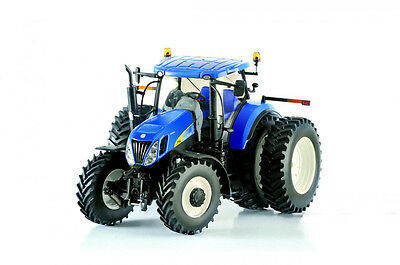 ROS 30137 New Holland T7050 Row Crop Dual Rear Wheel Tractor DIECAST Scale 1:32