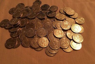 ⭐️ Lot Of 94 Collectible Sunoco Presidential Token~Coins Series 2000 ⭐️