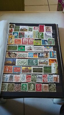60 TIMBRES  Allemagne (lot M5)