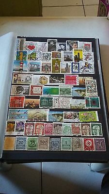 62 TIMBRES  Allemagne (lot M6)