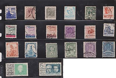 (U22-14)1960 Mexico of 68 stamps value to 5P (A)