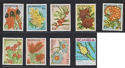 (U22-22) 1970 Nicaragua mix of 17stamps value to 28Col (D)