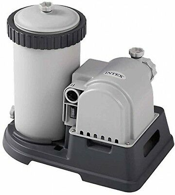 Intex 28634 Krystal Clear Filter Pump 2,500gal Per Hour For Pools Up To 24ft
