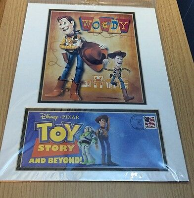 Disney Toy Story 10Th Anniversary Collectible Poster - Super Rare!!!!!