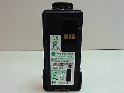 Motorola APX4000 MotoTRBO XPR7550,XPR7350 Used Battery with Belt Clip Tested