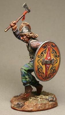 Tin Soldier, top quality, Celts, celtic warrior with an axe, Barbarian, 54 mm
