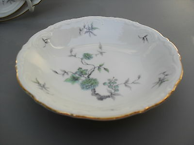 "Mitterteich -- Bavaria --""green Ming""-- Fruit Or Berry Bowl --5 1/4"""