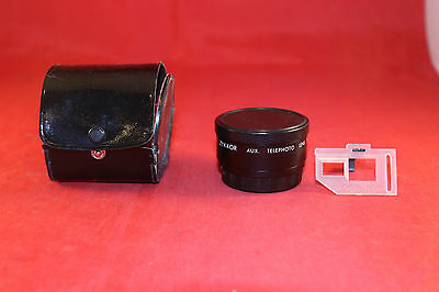 Zykkor Aux.Telephoto Camera Lens for Canon Sure Shot AF35M with Case & Veiw Find