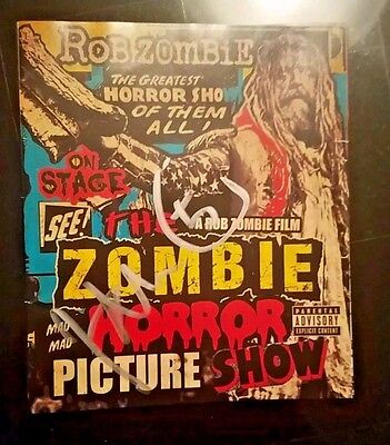 "John 5 - Rob Zombie signed ""The Zombie Horror Picture Show"" DVD"