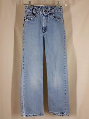Vintage Levis boys jeans size 11Slim 550 relaxed fit Orange Tab