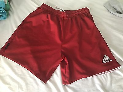 Adidas Youth Large Red Climalite Shorts