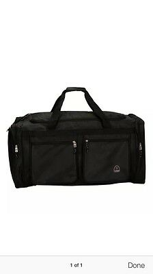 """Rockland 32"""" Solid Travel Duffle Tote Bag by Fox Luggage"""