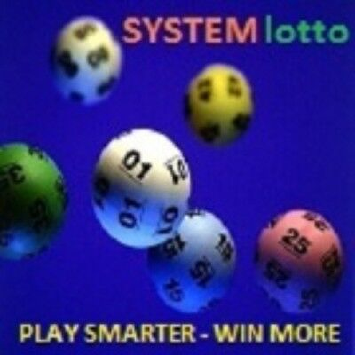 Lotto System 12 For Pick 6 Number Games - Play Lotto Smarter & Win Lotto More