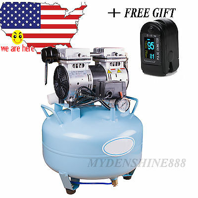 USA Automatic protector Dental Noiseless Oil fume Silent Oilless Air Compressor