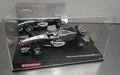 Slot car 1:32 Carrera Evolutions F1 McLaren Mercedes MP 4/15 ovp.