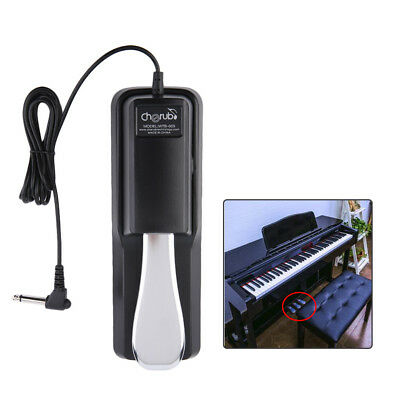 Fuß Sustainpedal Fußschalter Fußpedal Pedal Keyboard E-Piano Stagepianos#