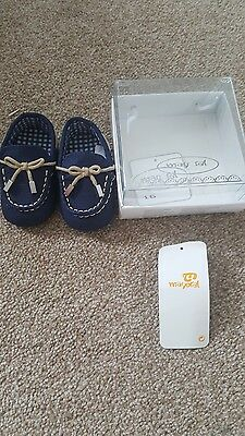 Baby Boys Spanish Blue Loafers Kids Children Shoes Size 16 Moccasins Mayoral