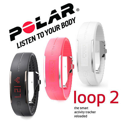 POLAR LOOP 2 Activity Fitness Sport Armband Tracker Herz Schlaf wasserdicht