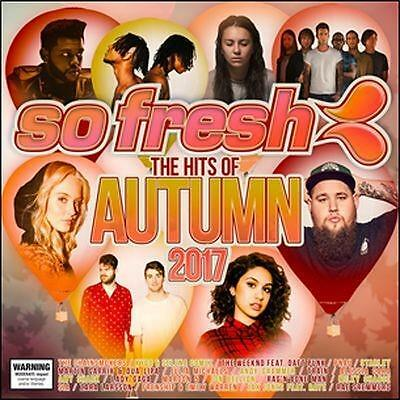 SO FRESH: The Hits Of Autumn 2017 CD NEW FREE POSTAGE