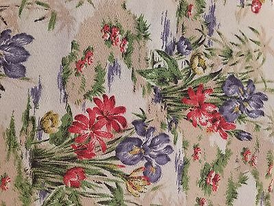 Beautiful Vintage Fabric Remnant.