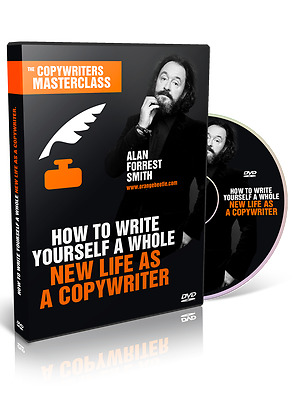 How To Become a Copywriter 7 Part Training DVDs by Alan Forrest Smith, Original