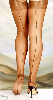 Eleganti RHT Stockings / Nylons - COPPER SEAMED - imperfects