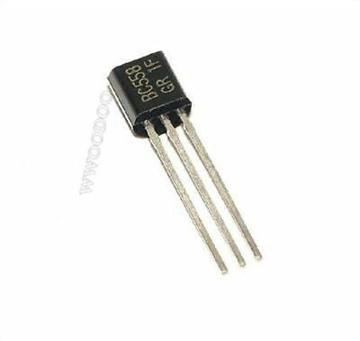 50Pcs BC558B BC558 Transistor Pnp 30V 100Ma TO-92 New Ic lt